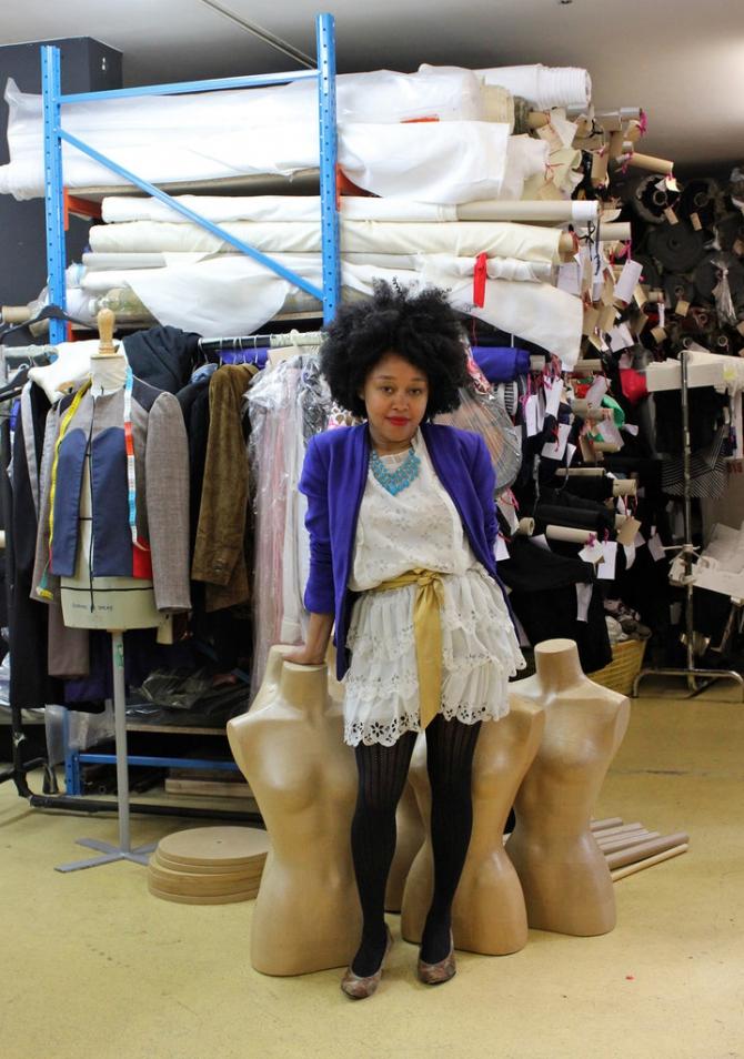 The best artisanal shop in Barbès is Créatrice de mode Sakina M'Sa.