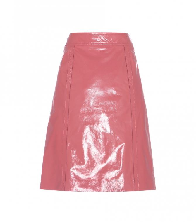 Bottega Veneta Leather skirt